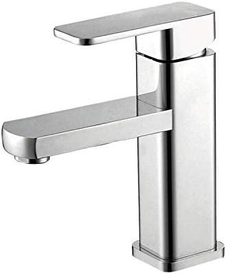 DXX-HR バスルームのシンクは、混合弁スロット付き浴室の洗面台のシンクホットコールドタップミキサー流域の真鍮シンクミキサータップ非震とう銅流域の蛇口流域の蛇口北欧の浴室の蛇口ホットとコールドタップ