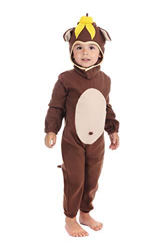 Bristol Novelty Monkey Toddler Costume Costume Age 2 -3 Years]()