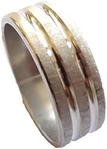 Steel Ring for men color Silver Item No 1164 - 12 - 2