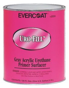 - Evercoat Fibreglass 2224 Uro-Fill Acrylic Urethane Primer Surfacer - Gallon - Gray