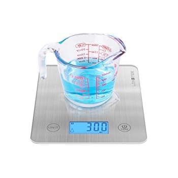 amazon com longtek digital kitchen scale food liquid weighing in