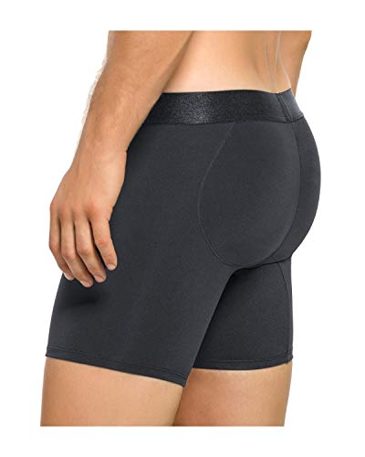 Leo Men's Butt Lifter Padded Underwear Boxer Brief