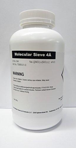 4a Molecular Sieve 1/8in Beads 500g Bottle