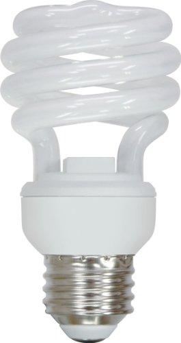 Energy Smart Spiral (GE Lighting 72472 Energy Smart Spiral CFL 13-Watt (60-watt replacement) 825-Lumen T2 Spiral Light Bulb with Medium Base, 1-Pack)