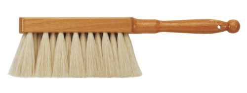 Soft Handle Brush (da Vinci Graphic Design Series 2485 Dusting Brush, White Goat Hair with Lacquered Wood Handle)