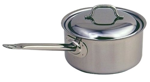Sitram Cybernox 2.4 Quart Saucepan with Cover by Sitram