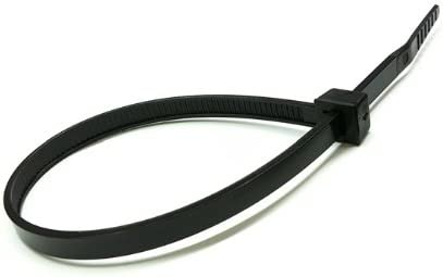 MightyTie MT14500 14-Inch Cable Ties Black 50 Pound 100-Count