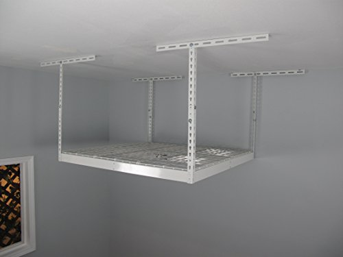 "Review SafeRacks - Medium Duty 4x4 Overhead Storage Rack (24""-45"" Ceiling By SafeRacks by SafeRacks"