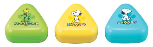 Snoopy ONIGIRI CASE SET (3Pcs) | Rice Ball Case | LS-2 ( Japanese Import )