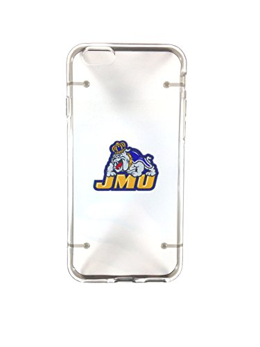 James Madison University Dukes JMU Iphone 6 plus TPU soft silicone case (James Madison Dukes Jmu University)