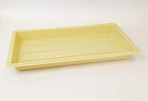 Perma-Nest No Drainage 22'' x 11'' Tan Plant Trays - For Seed Starting and Microgreens by GardenTrends