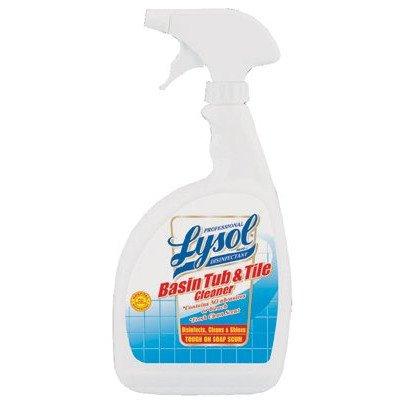 Reckitt Benckiser - Professional Lysol Brand Disinfectant Basin Tub & Tile Cleaners Lysol Disinfectant Ac Free 32Oz: 738-04685 - lysol disinfectant ac free 32oz