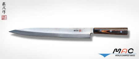 MAC Brand Left Handed Yanagiba Sushi Sashimi Knife 11.5 inch blade by MAC