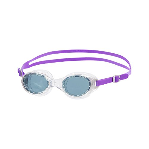 Speedo Futura Classic Lunettes de Natation Femme Purple/Smoke