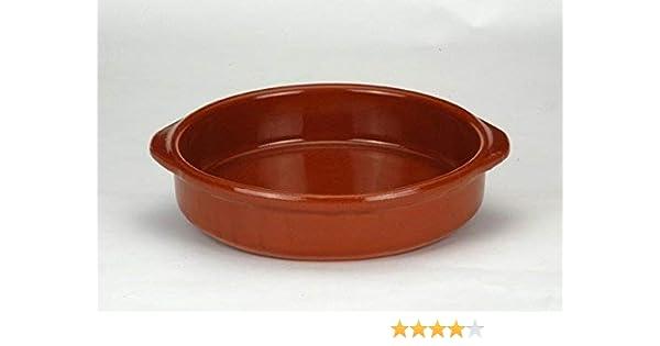 Cocina tradicional CAZUELA Cocina Redonda 20CM CA 19=CA 20 Barro: Amazon.es: Hogar