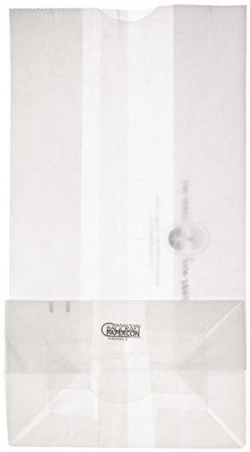 Bagcraft Papercon 300296 Dubl Wax SOS Bag, 6-lb Capacity, 11