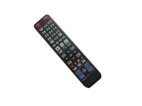 Universa Replacement Remote Control For Samsung BD-C7500/XEU BD-C5500/XSS BD-C5500/SAH BD-D6700/ZA BD-C6500/XSS BD-C6900/XAZ BD-F5700 BD-C6800 BD-C5500/EDC BD 3D Full HD Blu-Ray Disc DVD Player