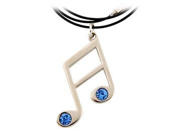 - Hatsune Miku Design Necklace with Music Note Pend by Yasheng Industrial Park