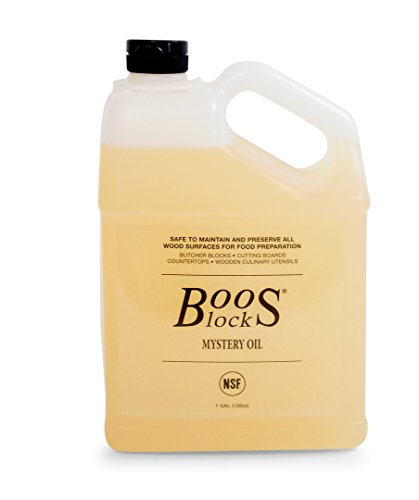 John Boos MYS128 Mystery Butcher Block Oil, 1 gal/128 oz. (Best Butcher Block Oil)