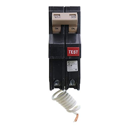 Eaton Cutler-Hammer CH230GF Ground Fault GFCI Circuit Breaker, 2-Pole, 30A, 120/240V from Cutler & Hammer