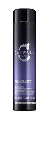 TIGI Catwalk Fashionista Shampoo for Unisex, Violet, 10.14 Ounce -