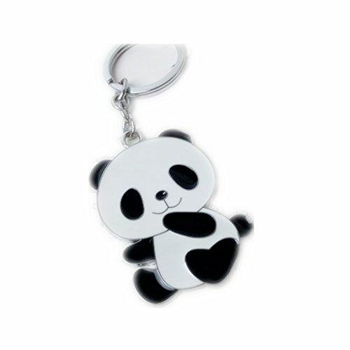 Letshopping Panda Hometown Cute Panda Keychain (2.3 inch)]()