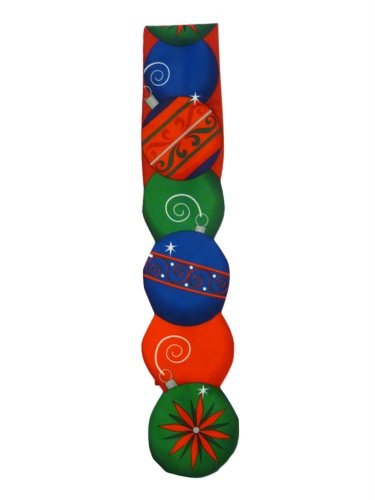 Holidays Red Ornaments ChristmasTie Holiday Necktie