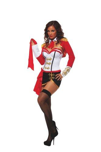 Starline Women's Sexy Matador Costume, Red, -