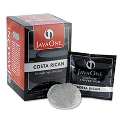 Coffee Pods, Estate Costa Rican Blend, Single Cup, 14/box By: Java One