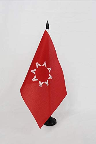 AZ FLAG Bandera de Mesa de los SIUX Oglala 21x14cm - BANDERINA de ...