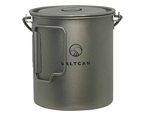 Valtcan 750ml Titanium Pot Mug Handle and Lid