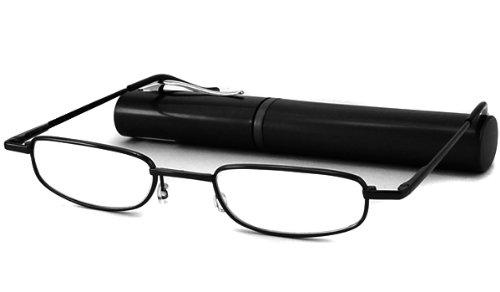 Able Vision Reading Glasses - BPR36 Tube Black / BPR36 BLACK TUBE +3.00-BPR36BLK300