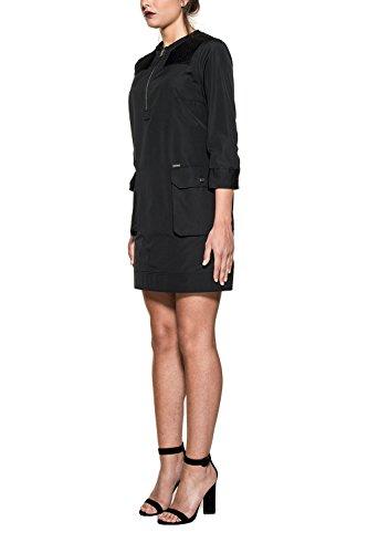 Dsquared2 Damen S72CU0494S36275900 Schwarz Baumwolle Kleid
