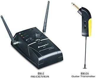 Nueva BM-6 UHF sistema de micrófono inalámbrico Audio ...
