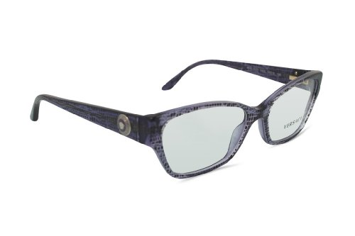 Versace Eyeglasses VE 3172 Purple 5000 - Versace Purple Glasses