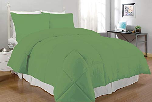 South Bay Alternative Comforter Set, Twin, Lime (Comforter Twin Lime Green)