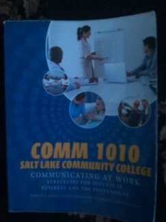 Comm 1010 Salt Lake Community College