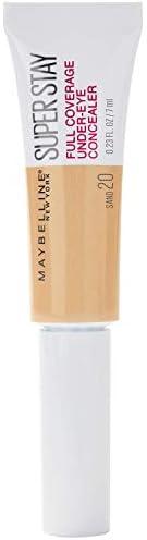 Maybelline Corrector Maquillaje Alta Cobertura Superstay, Paquete de 1