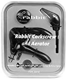 Cheap Metrokane Barware, Rabbit Corkscrew with Aerator 4 Piece Set Color Shiny Black