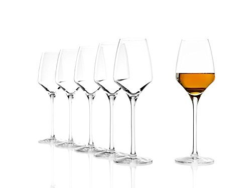 Stolzle Lausitz Experience Collection Port | Sherry | Dessert Glasses 6.75 Ounce, Set Of 6 -