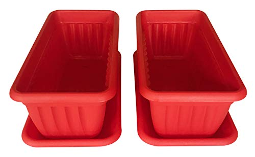 - Premium High-Density Plastic Planter