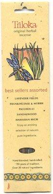 Triloka Assorted Best Sellers Stick Incense - 10 Sticks - incensecentral.us