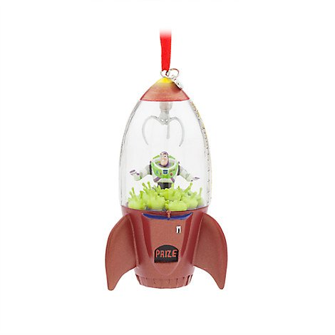 Disney Buzz Lightyear and Aliens Sketchbook Ornament - Machine Ornament