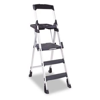 Worlds Greatest 5 75 Ft Aluminum Folding Step Ladder With