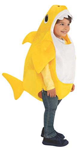 2 Year Old Halloween Costumes (Rubie's Kid's Baby Shark Costume with Sound Chip,)