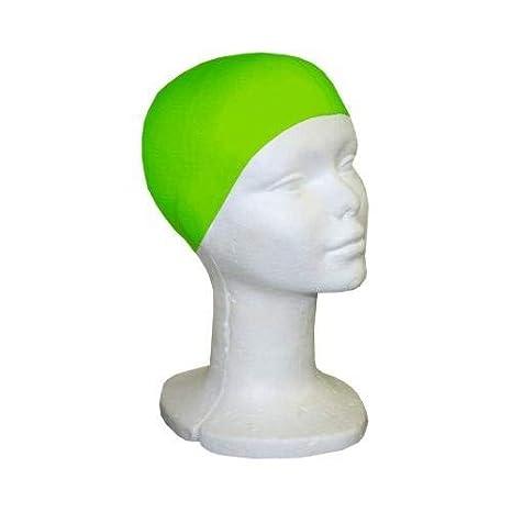 Cuffia Nuoto Silicone Softee Verde