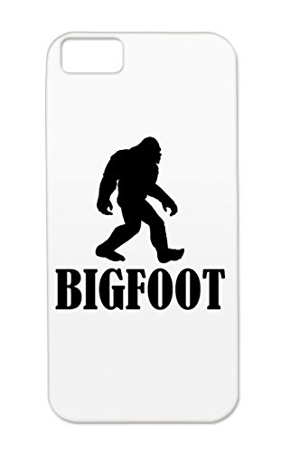 Durable Silhouette Funny Miscellaneous Shadow Sasquatch Black Bigfoot Outline For Iphone 5c Bigfoot Case Cover