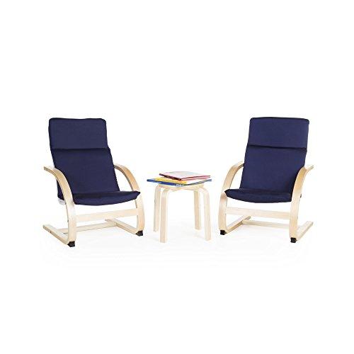 (Guidecraft Kiddie Rocker Chair Set - Blue G6406)