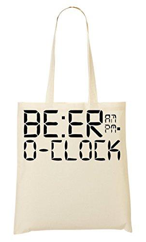 CP Bolsa Compra La De De Mano O'Clock Beer Bolso rnRO7fr