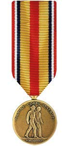 Medals of America Selected Marine Corps Reserve Medal Miniature Bronze